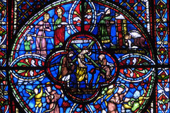 Francia, catedral de Bourges Foto de archivo