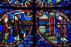Francia, catedral de Bourges fotografía de archivo libre de regalías