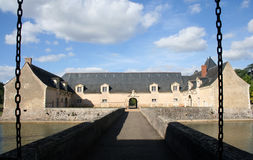Francia Château Plessis-Bourre Imagenes de archivo