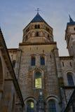 Francia, ciudad pintoresca de Cluny en Saone y el Loira Fotos de archivo libres de regalías