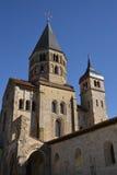 Francia, ciudad pintoresca de Cluny en Saone y el Loira Imágenes de archivo libres de regalías