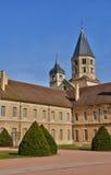 Francia, ciudad pintoresca de Cluny en Saone y el Loira Imagenes de archivo