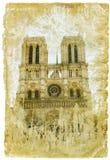 Francia - cuadro retro del estilo Foto de archivo libre de regalías
