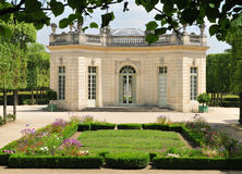 Francia, el estado de Marie Antoinette en el parc del PA de Versalles Imagenes de archivo