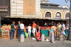 Francia, el mercado pintoresco de Versalles Fotografía de archivo libre de regalías