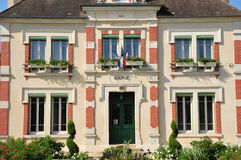 Francia, el pueblo pintoresco de Goussonville Fotografía de archivo libre de regalías