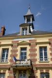 Francia, el pueblo pintoresco de simple Imágenes de archivo libres de regalías