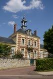 Francia, el pueblo pintoresco de simple Fotografía de archivo libre de regalías