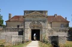 Francia, fortaleza Médoc en Cussac fotos de archivo