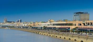 Francia, Gironda, Burdeos, área enumeró como patrimonio mundial por UNES Fotografía de archivo