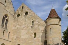 Francia, la abadía pintoresca de Royaumont en Val d Oise Foto de archivo