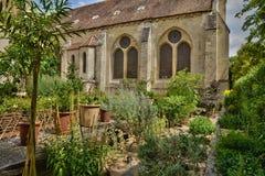 Francia, la abadía pintoresca de Royaumont en Val d Oise Imagenes de archivo