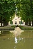 Francia, la abadía pintoresca de Royaumont en Val d Oise Imagen de archivo libre de regalías