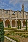 Francia, la abadía pintoresca de Royaumont en Val d Oise Foto de archivo libre de regalías