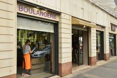 Francia, la ciudad moderna de Cergy le Haut Foto de archivo libre de regalías