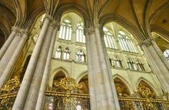 Francia, la ciudad pintoresca de Amiens en Picardie fotografía de archivo