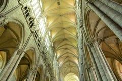 Francia, la ciudad pintoresca de Amiens en Picardie fotografía de archivo libre de regalías