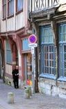 Francia, la ciudad pintoresca de Ruán en Normandie Fotos de archivo libres de regalías