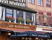 Francia, la ciudad pintoresca de Ruán en Normandie Foto de archivo