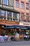 Francia, la ciudad pintoresca de Ruán en Normandie Imágenes de archivo libres de regalías