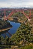 Francia, le Viaduct de Gabarit Foto de archivo libre de regalías