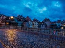 Francia menuda en Estrasburgo imágenes de archivo libres de regalías
