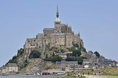 Francia, Mont San Michel Imagen de archivo libre de regalías