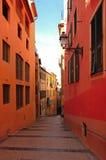 Francia, Niza: Riviera francesa Imagen de archivo