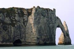 Francia, Normandie: Etretat   Foto de archivo