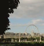 Francia, París - 17 de junio de 2011: Jardin de Tuileries Foto de archivo
