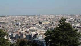 FRANCIA, PARÍS: Edificios, cacerola horizontal metrajes