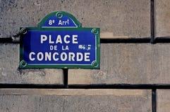Francia, París: Place de la Concorde Fotos de archivo