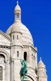 Francia, París: Sacre Coeur Imagen de archivo libre de regalías