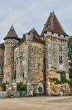 Francia, pueblo pintoresco del santo Jean de Cole fotografía de archivo