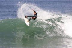 Francia que practica surf fotos de archivo