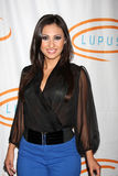 Francia Raisa arrives at the 12th Annual Lupus LA Orange Ball Royalty Free Stock Photography