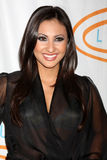Francia Raisa arrives at the 12th Annual Lupus LA Orange Ball Royalty Free Stock Images