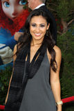 Francia Raisa arrives at the  Stock Photography
