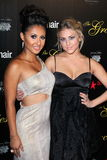 Francia Raisa, Cassie Scerbo at the 2012 Gracie Awards Gala, Beverly Hilton Hotel, Beverly Hills, CA 05-22-12 Royalty Free Stock Photos