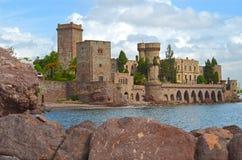 Castillo Napoule fotografía de archivo libre de regalías