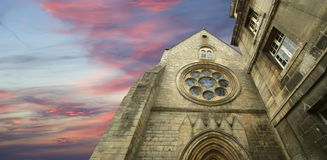 Francia, senlis, - abadía de Vincent del santo Fotografía de archivo libre de regalías