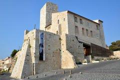 La Francia, riviera francese, Antibes, museo di Picasso immagine stock libera da diritti