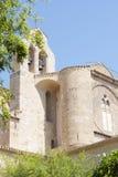 FRANCIA, VILLEVEYRAC - 18 DE JULIO DE 2014: Fragmento Abbey Valmagne (franco Foto de archivo