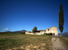 Franciacorta. Provaglio (Bs),Franciacorta,Lombardy,Italy,view of an hold farmhouse Royalty Free Stock Image