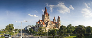 Francis of Assisi Church, Vienna Stock Images