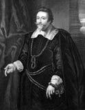 Francis Cottington, 1st Baron Cottington Royalty Free Stock Photography