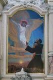 Francis di Assisi santo Fotografie Stock