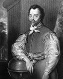 Francis Drake Stock Image