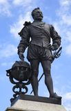 Francis Drake Statue Royalty Free Stock Photo