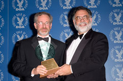 Francis Ford Coppola,Steven Spielberg Royalty Free Stock Image